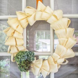 Corn Husk Wreath