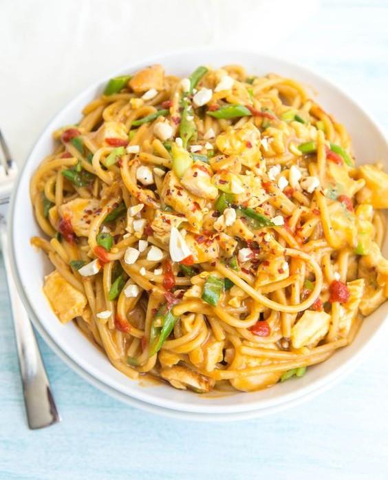 One Pot Asian Noodles