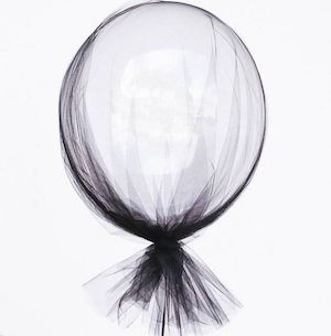 Tulle Wrapped Balloon