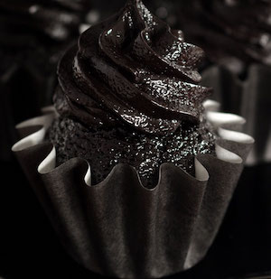 Blackout Chocolate Cupcakes