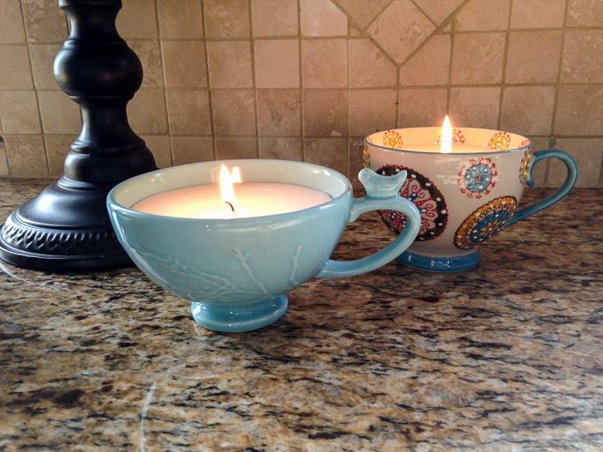 diy mug candles