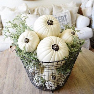 Basket O' Pumpkins