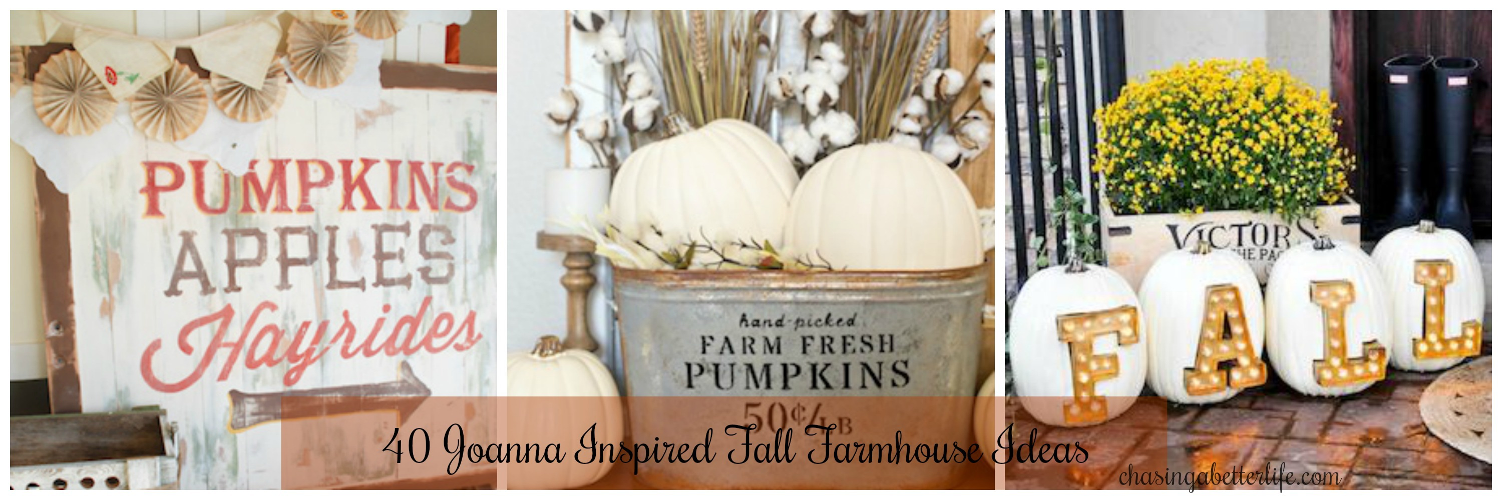 40 Joanna Inspired Fall Farmhouse Ideas