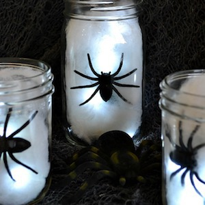 Spider Light Centerpieces