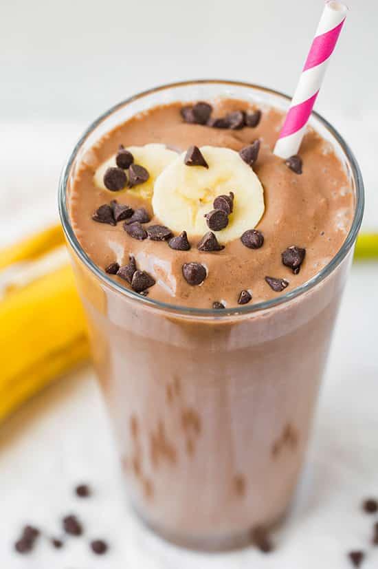Chocolate Peanut Butter Banana