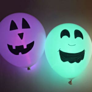 Light Up Halloween Balloons