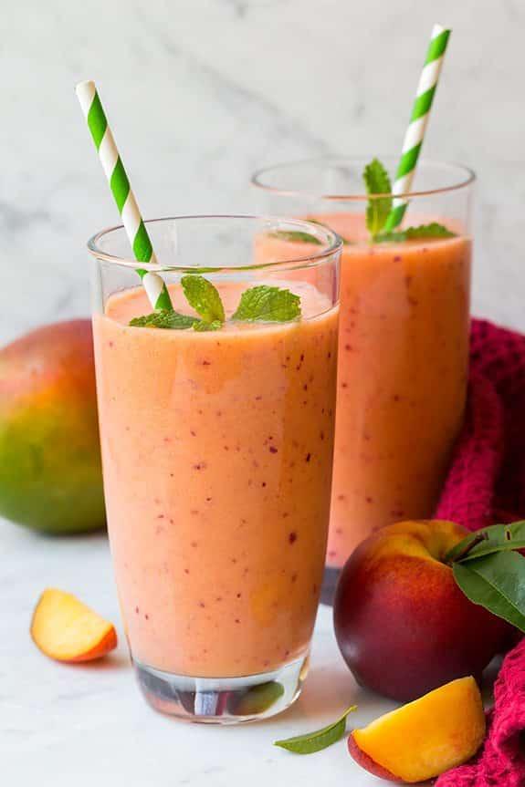 Mango Peach and Strawberry