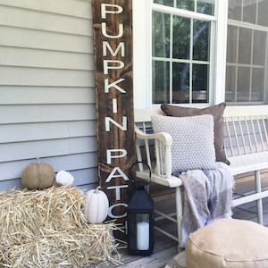 Pumpkin Patch Porch