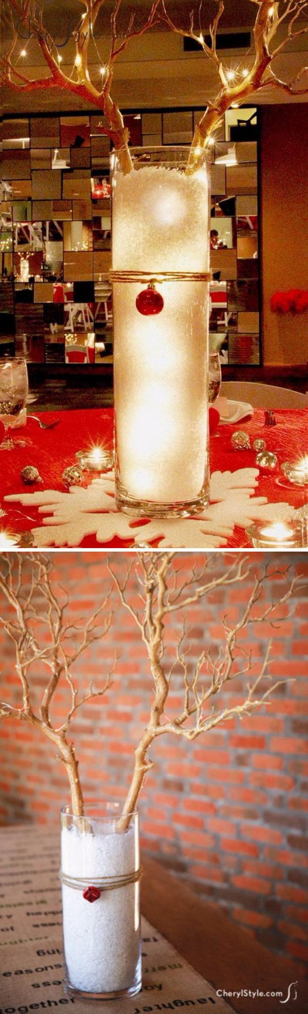 Beaded Christmas Tree Garland