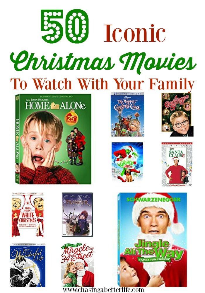 50 Iconic Christmas Movies To Watch With Your Family