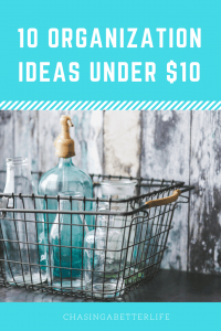 Amazing tips for organization! And all under $10! So pinning!