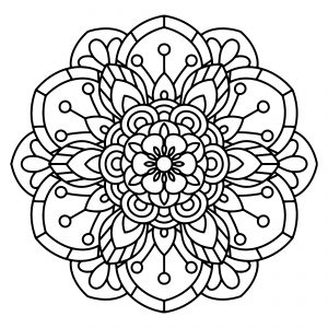 printable mandala coloring pages Free Printable Mandala Coloring Sheets printable mandala coloring pages