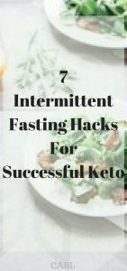 omg! These hacks are amazing! I can't wait to incorporate intermittent fasting into my keto lifestyle! So pinning!