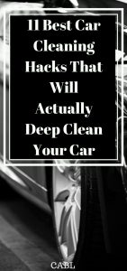 These car cleaning hacks are awesome! I never knew most of these tips and will be trying them ALL! So pinning!