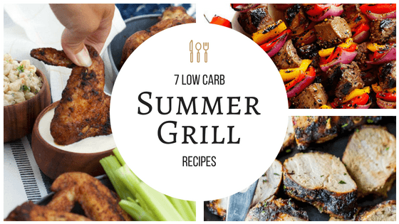 These grilling recipes for summer are amazing! I am so ready to fire up the grill and try these! So pinning! #summer #grilling #wings #kabobs #salmon