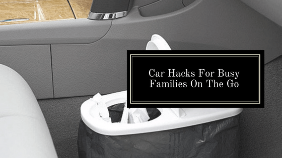 These car hacks are amazing! So many great ideas to keep the car clean and organized. So pinning! #car #tips #tricks #hacks #organized