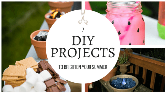 These summer projects are amazing...and so cheery! I can't wait to make some for my home! So pinning! #DIY #summer #cheery #projects