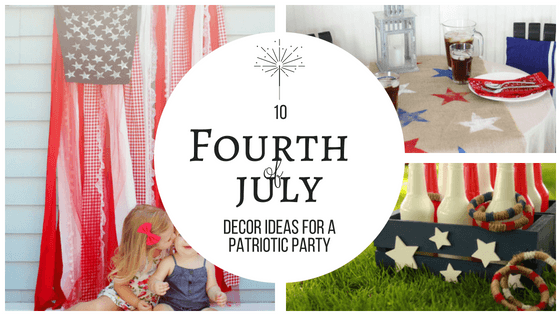 These 4th of July ideas are great! I know I'll be doing some of these to get ready for our party! So pinning! #FourthofJuly #4thofjuly #celebrate #summer