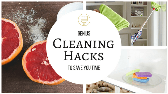 These cleaning hacks are super! So many great ideas I had never heard of! I'll for sure be using most, if not all! So pinning! #cleaning #hacks #DIY #time