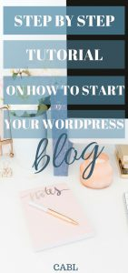 I've been wanting to set up a blog and this so helpful! So pinning!