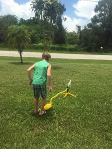 Wow! This is so cool! I've been trying to get my kids outside. This looks like so much fun! #kids #family #outside #stomp #stomprocket