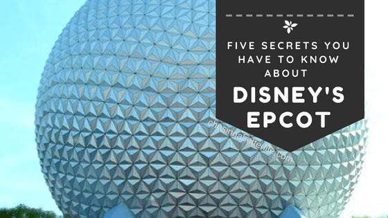 Wow! These Disney secrets will come in handy for my trip to Epcot! Using them to plan right now! So pinning!