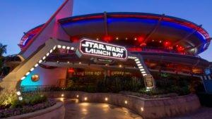 pre galaxy's edge Star Wars at Disneyland