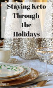 You don't have to cheat your way through family occasions and ruin all of your hard work. Staying Keto during the holidays can be a positive experience.