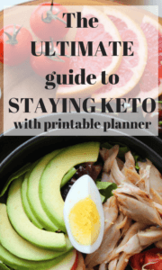 When you have a proper meal plan, it's easy to slip into a routine that helps maintain ketosis. Here are the main factors in my printable keto menu planner.
