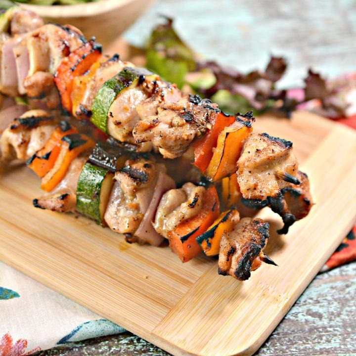 Keto Grilled Chicken Skewers