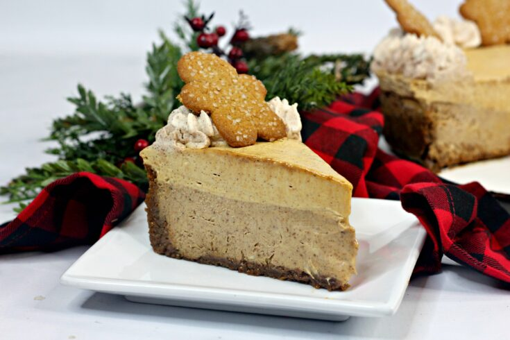 The Best Gingerbread Cheesecake Ever 2