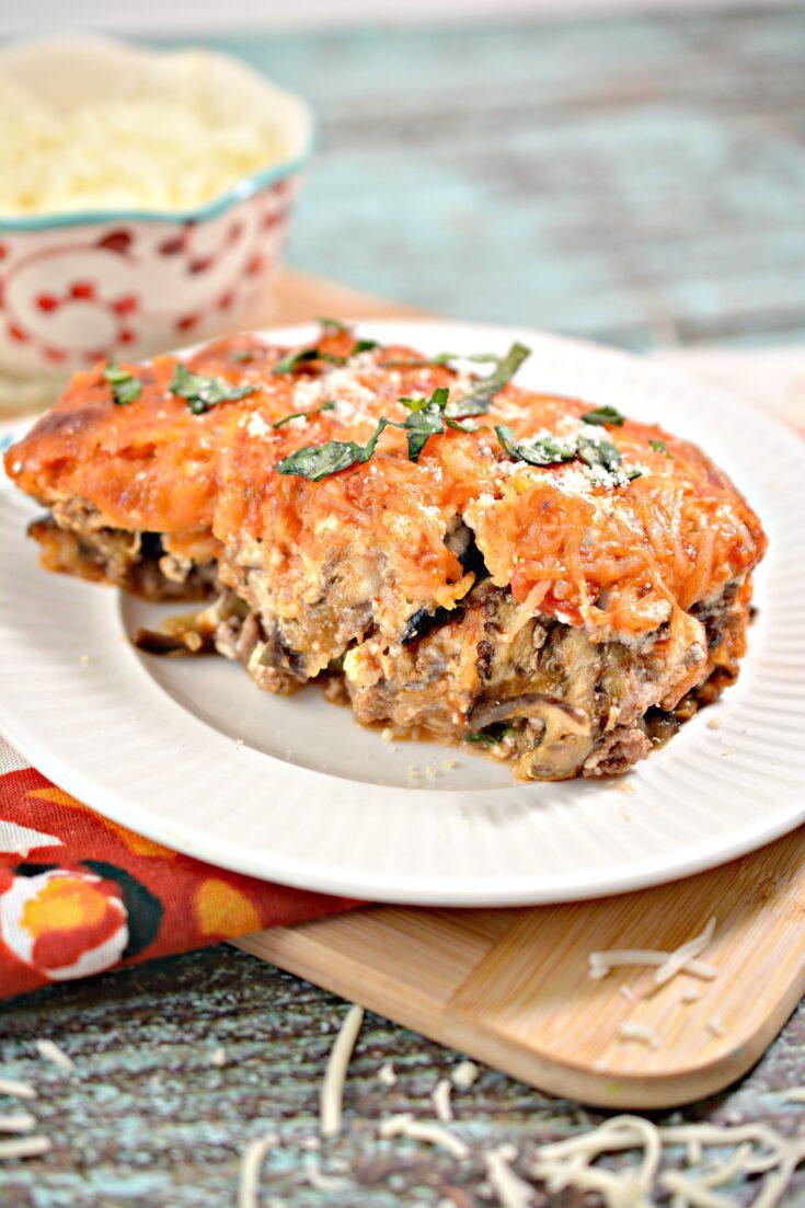 Fresh & Delicious Low-Carb Eggplant Lasagna | Keto-Friendly, Gluten-Free 5