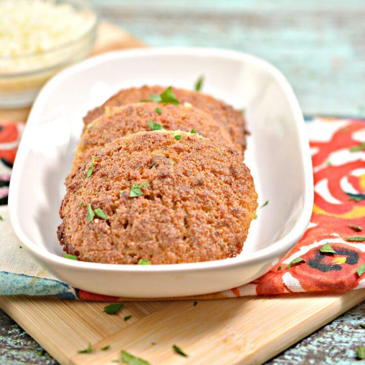 Keto Savory Sausage Breakfast Cookies