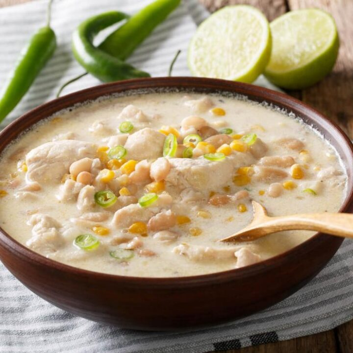 Mouth-Watering & Hearty Creamy White Chicken Chili