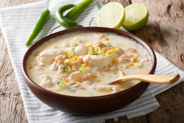 Mouth-Watering & Hearty White Chicken Chili 6