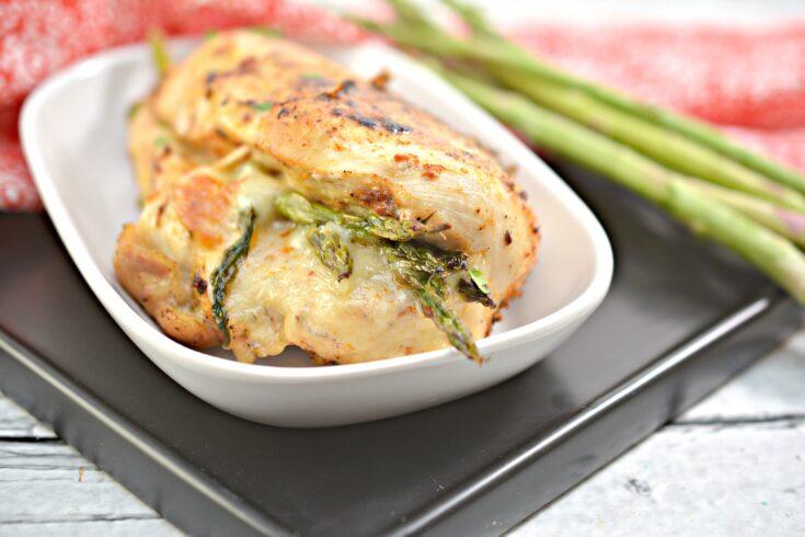 Keto Asparagus Stuffed Chicken 2